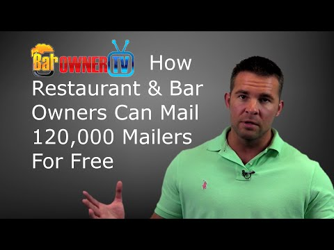 Restaurant Marketing: How To Mail Out 120,000 Flyers A Year For FREE!