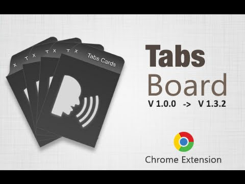 Tabs Board - Google Chrome Extension