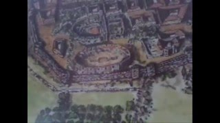 Plano ideal de la Colonia Romana de Mérida.