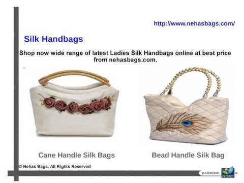Online Shopping Store for Ladies Silk Handbags, Purses in India at Nehasbags com