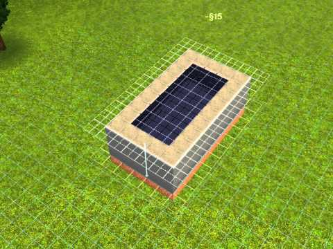 How to Make a Sky Roof in Sims 3