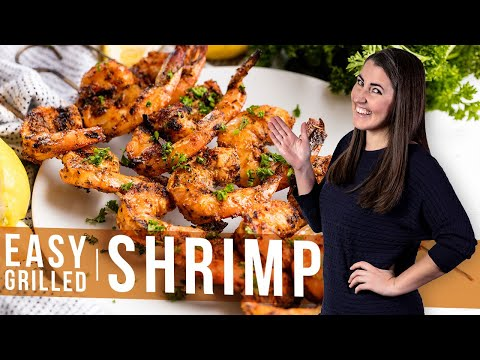 How to Make Easy Grilled Shrimp | The Stay At Home Chef