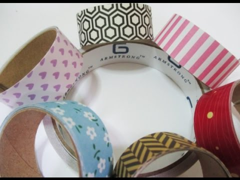 DIY : #104 Easy HOMEMADE Washi Tape ♥