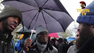 Gary & Godwin vs British Muslim | Pre-Islamic Allah vs Christianity | Speakers Corner
