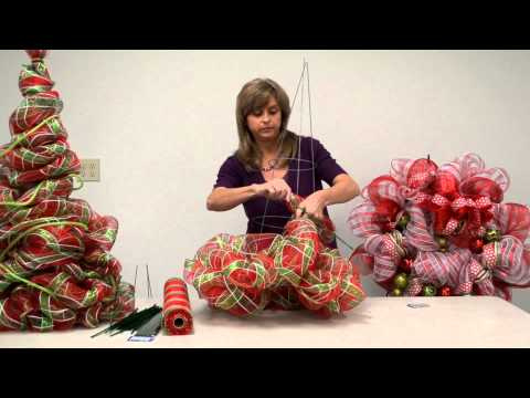 How to: Make a Deco Poly Mesh Tree