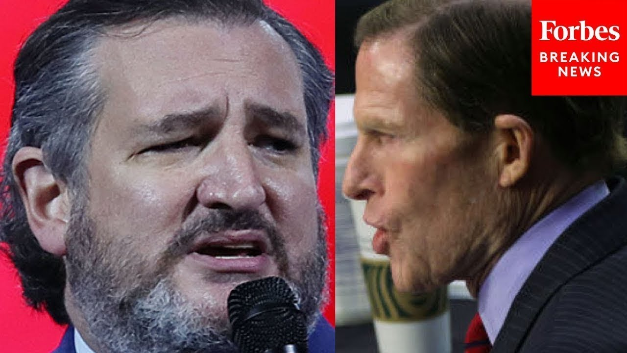 """Cruz Fires Back At Blumenthal: """"Are These Not Her Actual Words?"""""""