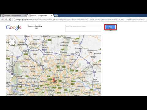 How to Print Google Map Landscape
