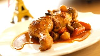 Coq Au Vin Recipe | ENTERTAINING WITH BETH
