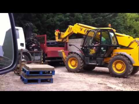 CPCS telescopic handler test