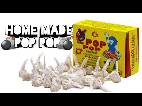 DIY Home made pop pop bomb!! | Crafty Crackers | Happy diwali Indian 😊| All In One
