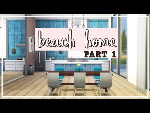 The Sims 4: Speed Build | Modern Beach House - Part 1