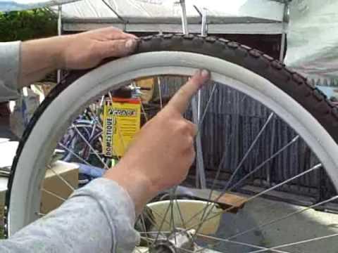 26x2.125 White Wall Bike Tires