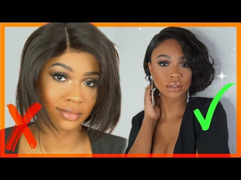 EASY SHORT BOB WIG TRANSFORMATION! HJWeaveBeauty