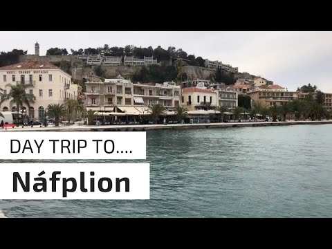 NAFPLIO GREECE - BEST SIDE TRIP FROM ATHENS - VLOG