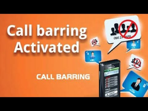 Call Barring activated without password 100% work