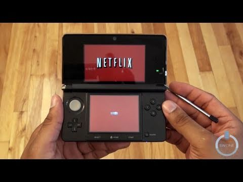 Netflix On The Nintendo 3DS