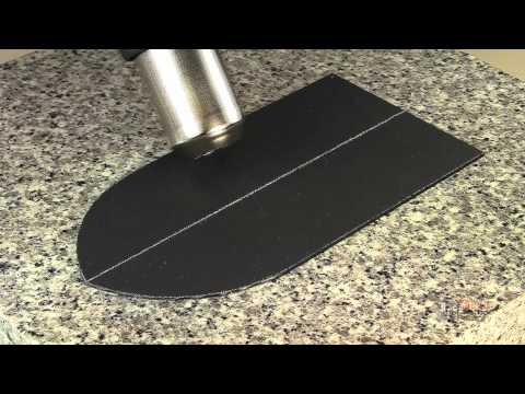 How To Use Kydex Thermoplastic Sheets For Leather Tooling