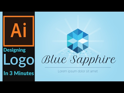How to Draw a Luxury Brand Logo in 3 Minutes : Adobe illustrator  (Brand Identity Creation 02 )