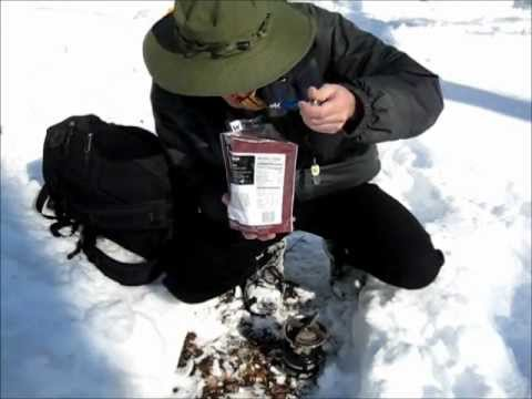 The Best Backpacking & Survival Food - cook in the pouch