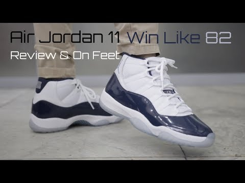 Air Jordan 11 Win Like 82 Midnight Navy Review & On Feet