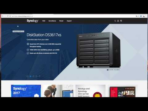 how to map synology nas to mac os