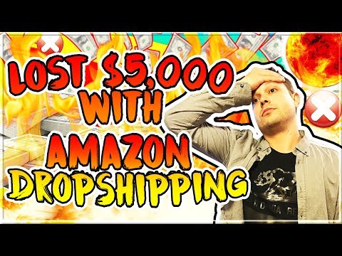 How I Lost Over $5,000 With My Amazon Dropshipping Business and Walmart Tax Exemption