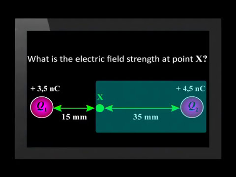 05 Calculating Electric Field Strength