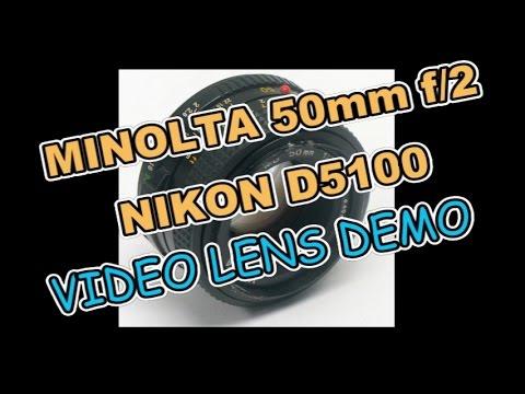 MINOLTA MD 50mm f.2 Prime Lens on NIKON D5100