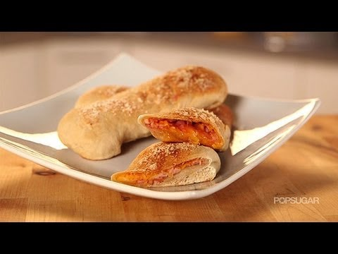 Hot Pockets Recipe | Ham and Cheese Calzone | Get the Dish