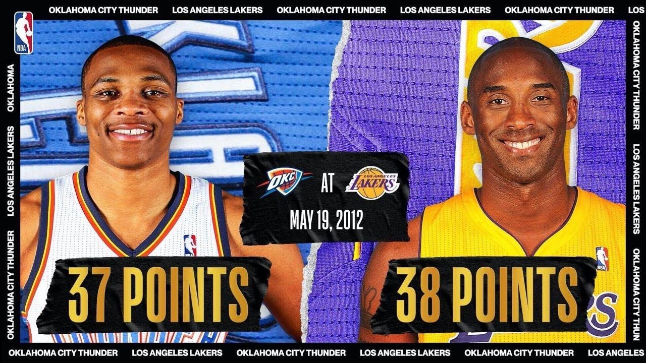 Westbrook & Kobe Duel, KD Hits Clutch Shot   #NBATogetherLive Classic Game