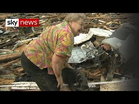Xxx Mp4 Oklahoma Tornado Dog Emerges From Debris 3gp Sex