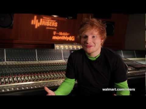 Ed Sheeran Offers Advice to Aspiring Musicians on Walmart Soundcheck Risers