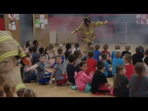 Firefighters Dance To Teach Safety
