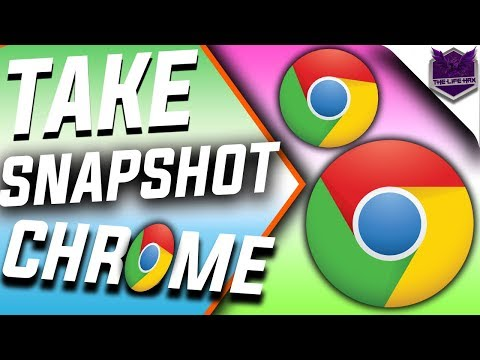 How To Take Screenshots In Google Chrome Without Any Extension New method!