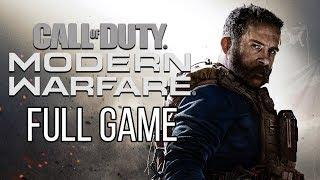 Call of Duty MODERN WARFARE Gameplay Walkthrough Part 1 FULL GAME No Commentary (#ModernWarfare2019)