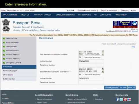 How to Fill Passport Application form online step by step
