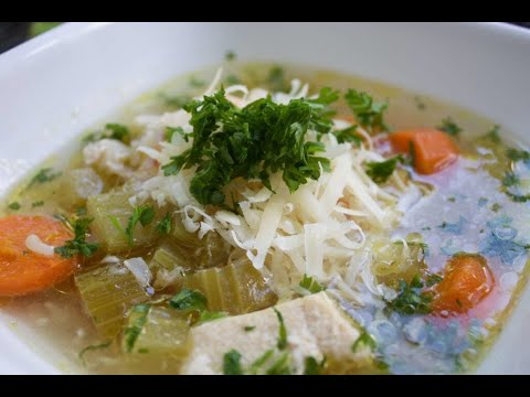 Slow Cooker Chicken, Rice, and Celery Soup Recipe - The Produce Mom