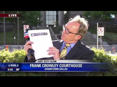 Dallas County jury duty scam