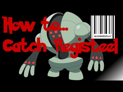 How to catch Registeel. Legendary Regi Guide Part 4 Pokemon ORAS