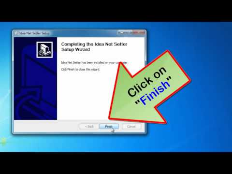How to install idea 3G net setter in windows 7 | Idea 3G installation issues