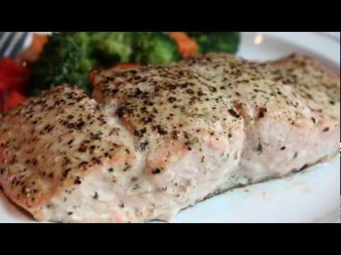 Baked Lemon Pepper Salmon Recipe - How to Bake Salmon