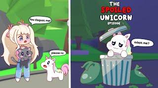 "The Spoiled Unicorn Ep.5   ""RICH TO POOR""   Adopt Me Pet POV"