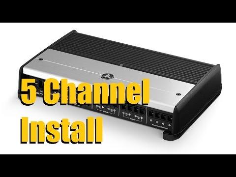 5 Channel Amplifier Installation (JL Audio XD 700/5)