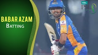 PSL 2017 Playoff 2: Karachi Kings vs. Islamabad United - Babar Azam Batting