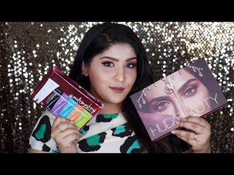 Yet Another What's In My Mail! | Huda Beauty, Glamglow & More | Shreya Jain