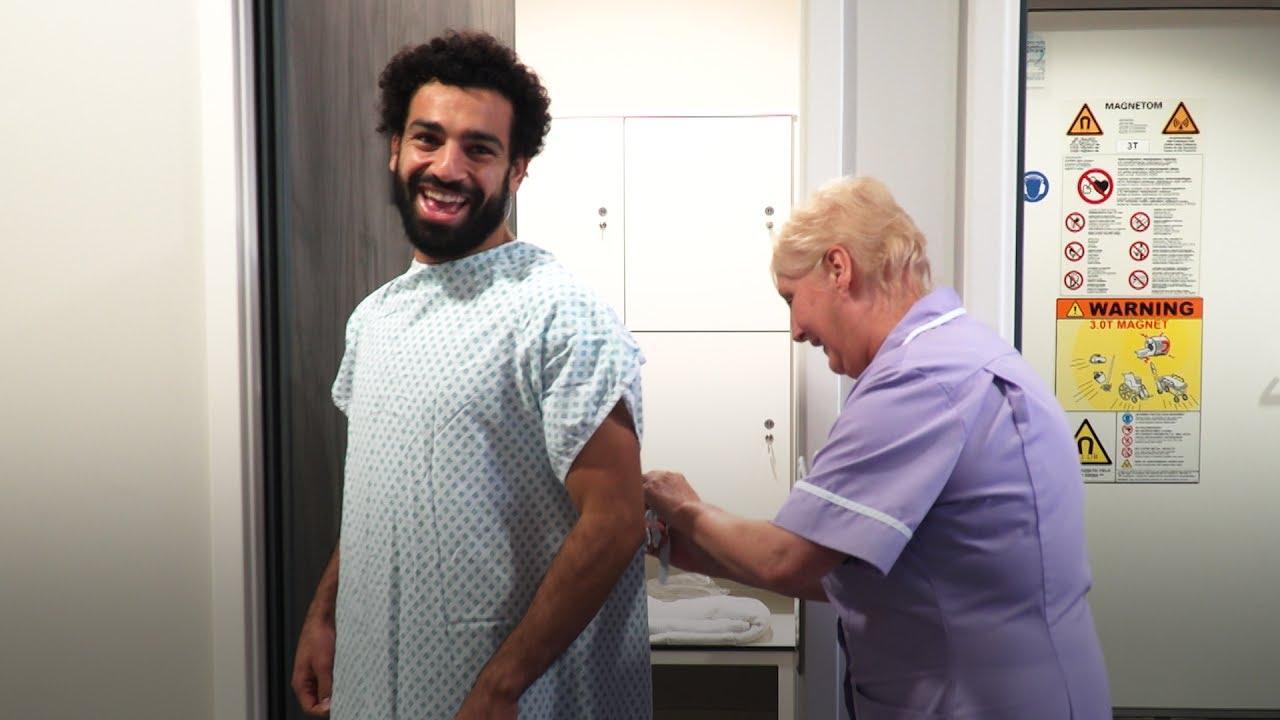 Salah's first day at LFC | Signing day vlog series