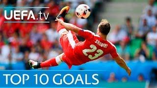 Top ten UEFA EURO 2016 goals