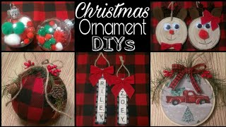 Download DIY Rustic Christmas Ornaments • ornament DIYs for kids + buffalo check and red truck Video