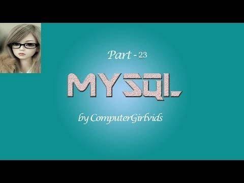 Mysql Tutorial In Hindi Part 23 Foreign Key Constraint