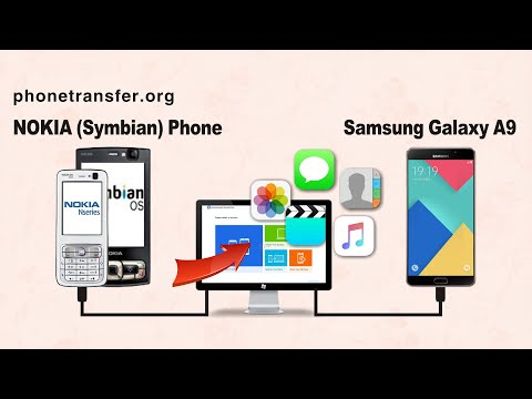 How to Transfer All Data from NOKIA to Samsung Galaxy A9, Symbian Phone to Samsung A9